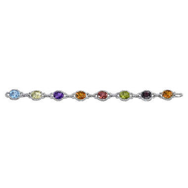 22.87 ct. t.w. Multi-Gem & Diamond Bracelet (I,I1)