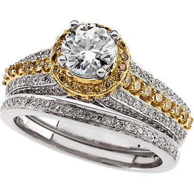 1.85 ct. t.w. Diamond Bridal Ring Set (I, I1)