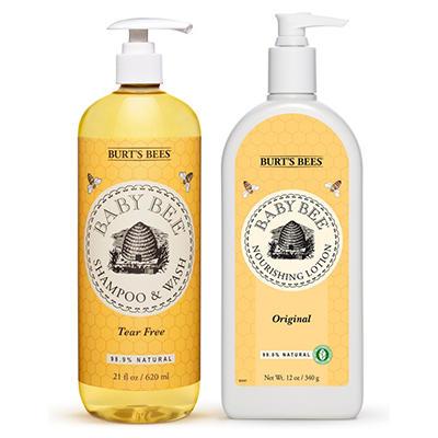 Burt's Bees Baby Shampoo & Lotion Bundle