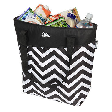 Arctic Zone PRO 56 Cans Plus Ice High Performance Thermal Tote - Black & White Chevron