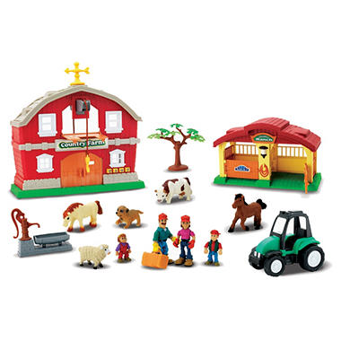 Pre-School Play Set - Farm House