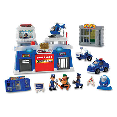 Pre-School Play Set - Policemen At Work