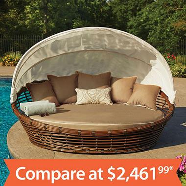 Melbourne Daybed with Premium Sunbrella Fabric