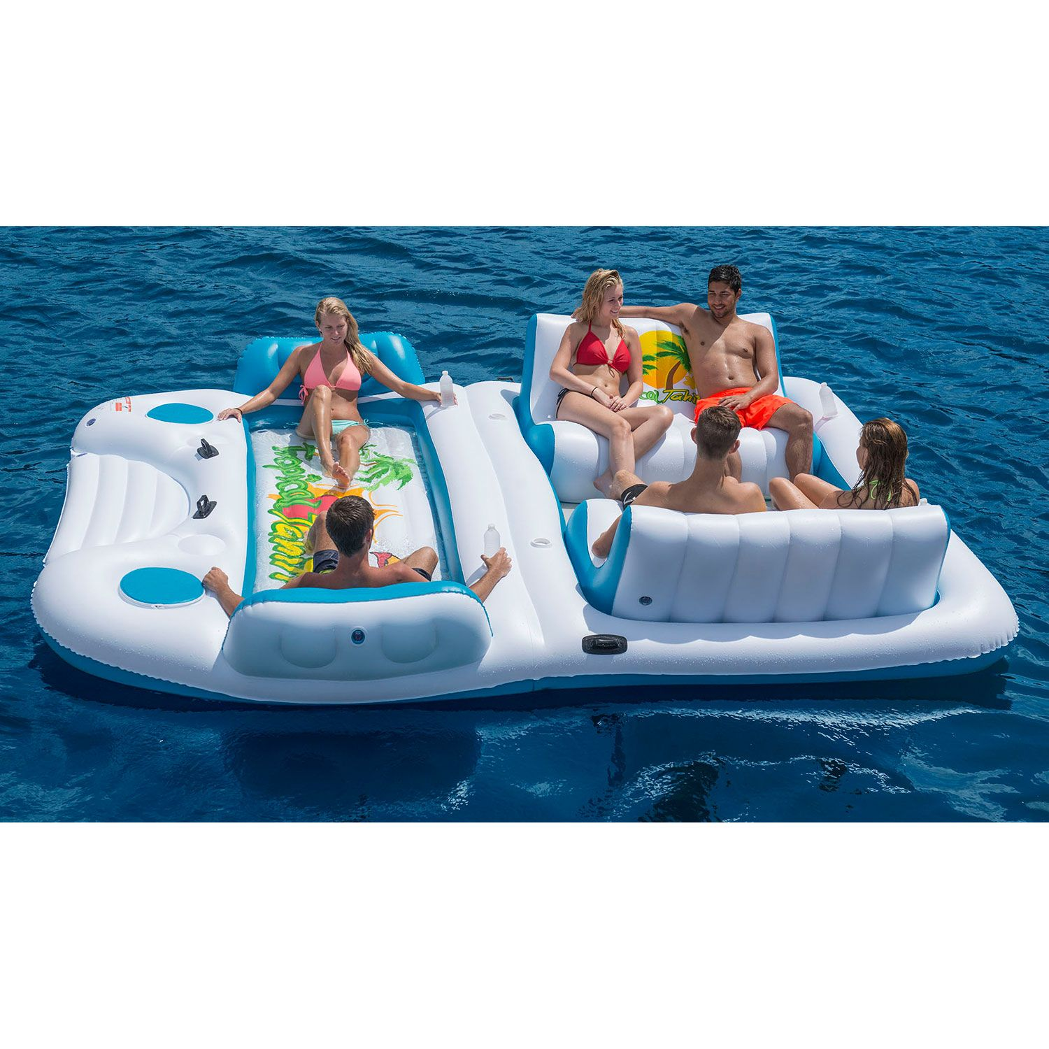 Find great deals on eBay for Tropical Tahiti Floating Island Inflatable Pool Float. Shop with confidence.