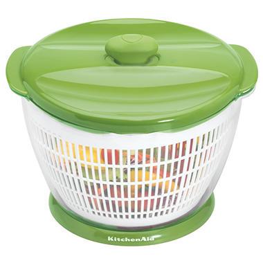 KitchenAid Salad and Fruit Spinner - Green