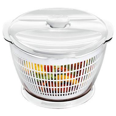 KitchenAid Salad and Fruit Spinner - White