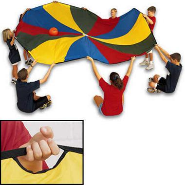 Parachute Canopy w/6 Handles - 6'