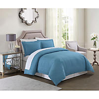 Christian Siriano Down-Alternative 4-Piece Comforter Set (Assorted Sizes)