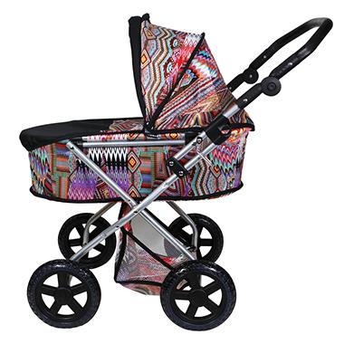 Baby Doll Stroller - Black