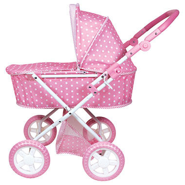 Baby Doll Stroller - Pink