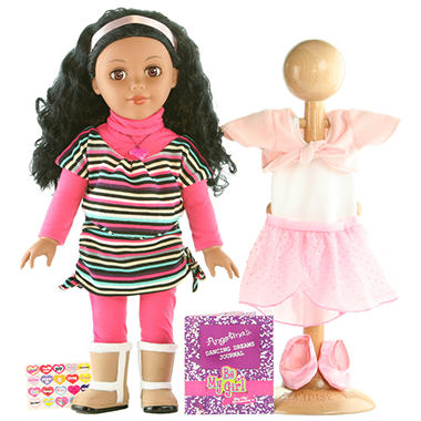 "New York African American18"" Doll - Inspired By Dance"
