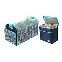 Arctic Zone Trunk Organizer with Cooler (Assorted Colors)