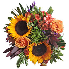 Autumn Glory Mixed Bouquet - 7 pk.