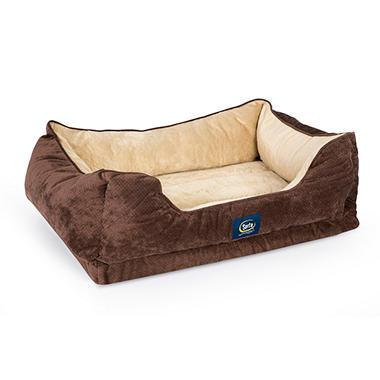 Serta Gel Memory Dog Bed  X
