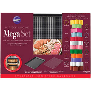 Wilton 14-Piece Mega Pan Cookie Set