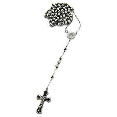 Stainless Steel Beaded Rosary