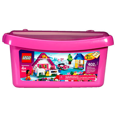 LEGO Large Pink Brick Box - 402 pcs.