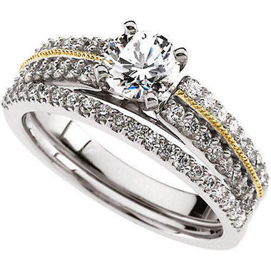 1.43 ct. t.w. Diamond Bridal Ring Set (I, I1)