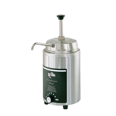Hot Topping Warmer with Pump