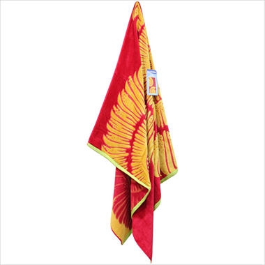 "Beach Towel - 40"" x 72"" - Lemon Shell"