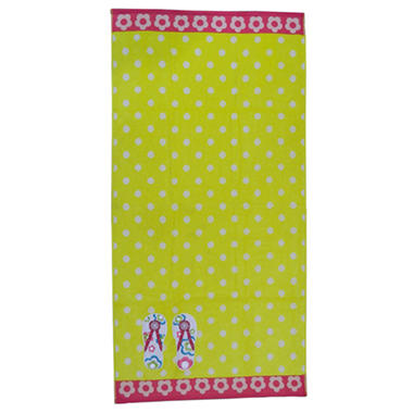 "Kids Beach Towel - Summer Holiday - 30"" x 60"""