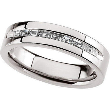 0.47 ct. t.w. Gents Diamond Band  (I,I1)