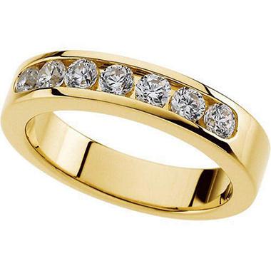 0.49 ct. t.w. Ladies Diamond Band  (I,I1)
