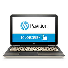 "HP Pavilion Touchscreen HD 15.6"" Notebook, Intel Core i5-6200U DC Processor, 8GB Memory, 1TB Hard Drive, Windows 10, Available in:  Modern Gold 15-au067cl, Sporty Purple 15-au097cl , Dragonfly Blue 15-au087cl, Natural Silver 15-au057cl"