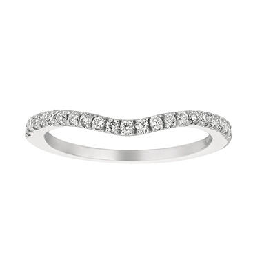 0.27 CT. T.W. Diamond Add-On Band 14K White (I, I1)