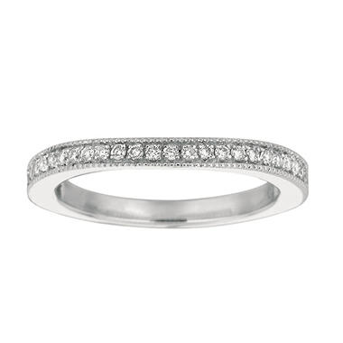 0.25 CT. T.W. Diamond Add-On Band 14K White (I, I1)