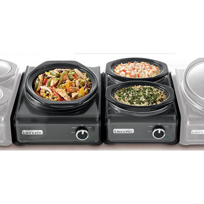 Crock-Pot (2qt.) Hook Up Connectable Entertaining System