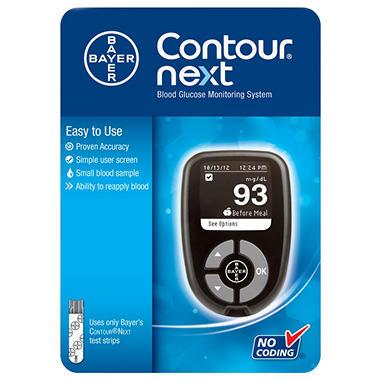 Bayer Contour Next Blood Glucose Monitoring System