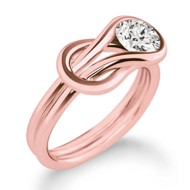 .15 ct. Everlon? Diamond Solitaire Ring in 14K Rose Gold (I, I1)