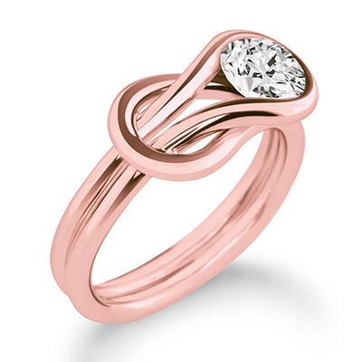 .30 ct. t.w. Everlon™ Diamond Solitaire Ring in 14K Rose Gold (I,I1)