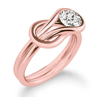 .75 ct. Everlon™ Diamond Solitaire Ring in 14K Rose Gold (I, I1)