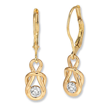 .50 ct. t.w. Everlon? Diamond Drop Earrings in 14K Yellow Gold (I, I1)