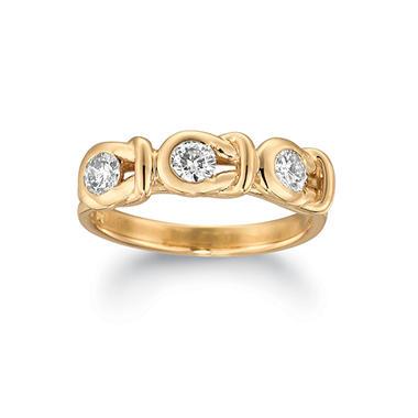 1.00 ct. t.w. Everlon™ 3-Stone Diamond Ring in 14K Yellow Gold (I, I1)