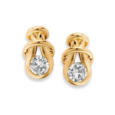 .50 ct. t.w. Everlon™ Diamond Knot Earrings (I, I1)