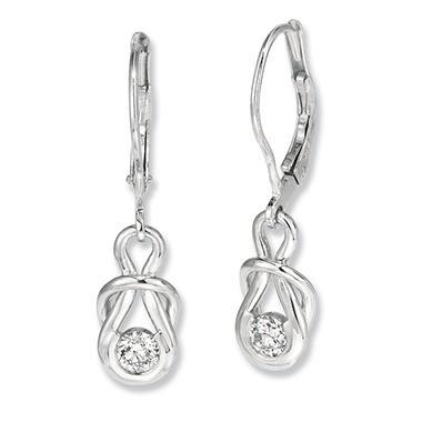 1 ct. t.w. Everlon™ Diamond Drop Earrings (I,I1)