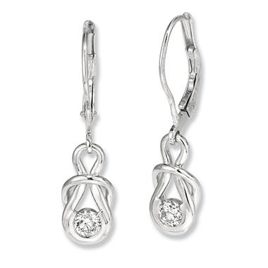 1 ct. t.w. Everlon? Diamond Drop Earrings (I,I1)