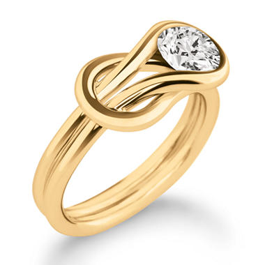 .15 ct. Everlon? Diamond Solitaire Ring in 14K Yellow Gold (I, I1)