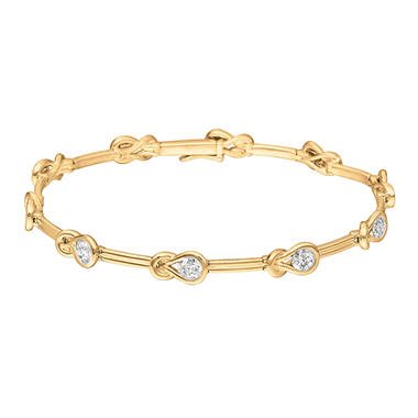 1.50 ct. Everlon™ Diamond Bracelet in 14K Yellow Gold (I, I1)