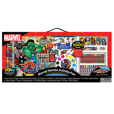 Marvel Super Art Activity Set