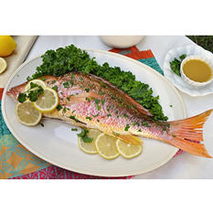 Tampa Bay Fresh Whole Snapper (10 lb. box)