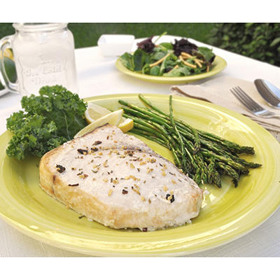 Tampa Bay Fresh Swordfish Loin, Skin On (10 lb. box)