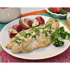 Tampa Bay Fresh Snapper Fillets, Skin On (10 lb. box)