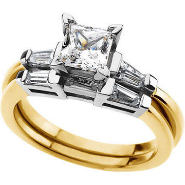 1.42 ct. t.w. Diamond Engagement Set  (I, I1)