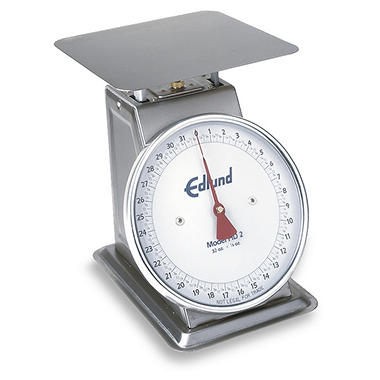 Edlund 32 oz. x 1/8 oz. Heavy Duty Stainless Scale