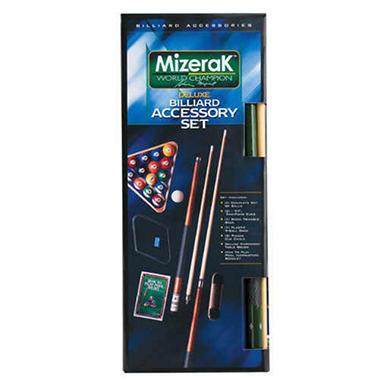 Mizerak Deluxe Billiard Accessory Kit