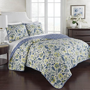 Imperial Dress 3 Piece Reversible Quilt Set